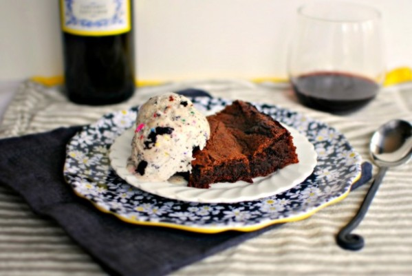 cabernet-ganache-swirled-brownie-and-ice-cream-620x415